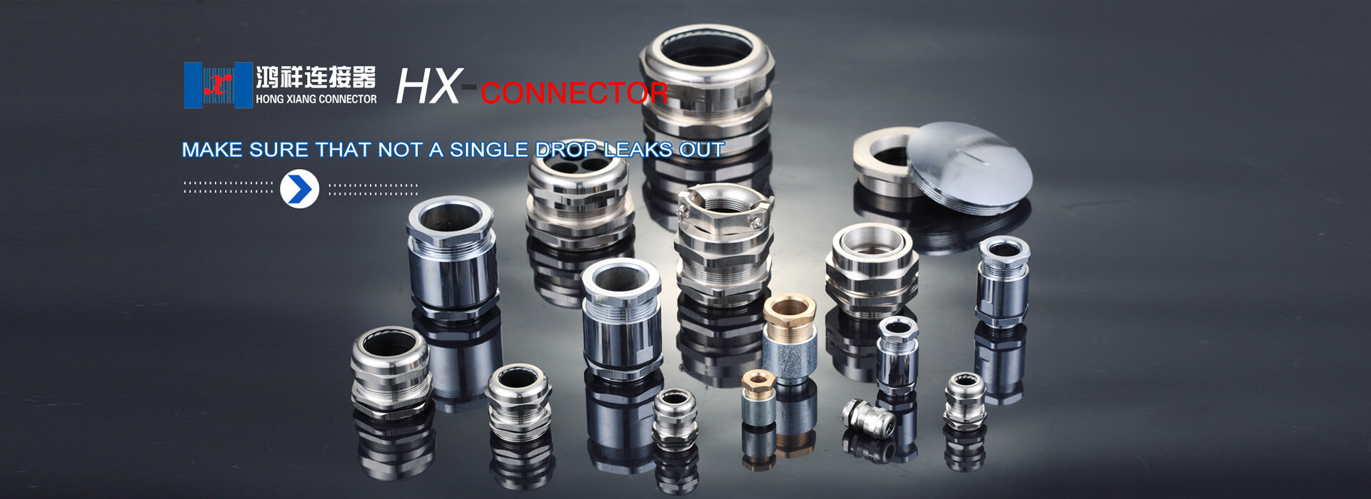 Stianless steel cable gland